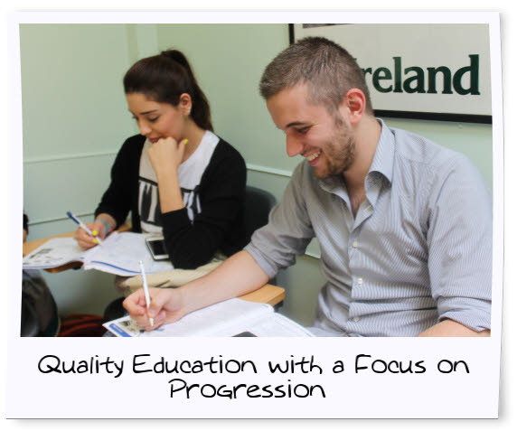 English Courses in Dublin for Adults