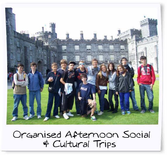 Group Holiday for English Language Ireland