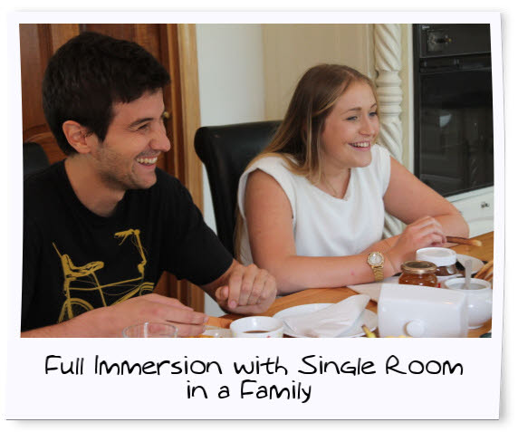 Single Room Host Family Accommodation for Adults on Dublin English Course