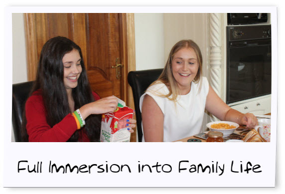 host family accommodation for teenagers ireland