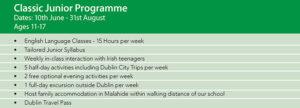 Junior Summer Camp Ireland