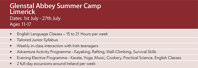 Junior Summer Camp Ireland Residential Camp