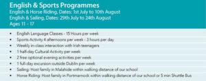Junior English Summer Camp Ireland