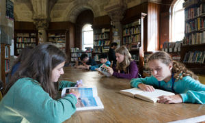 Library Glenstal Abbey