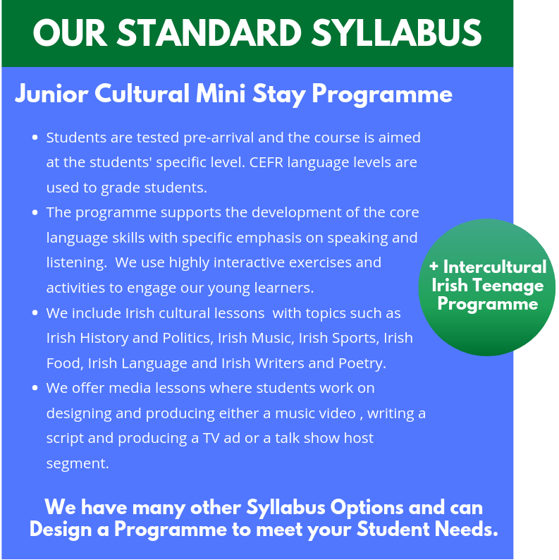 OUR STANDARD syllabus