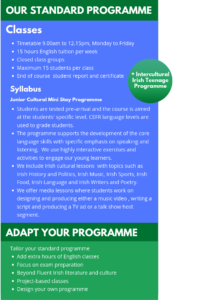 Tailored Group Programmes - Design your Programme