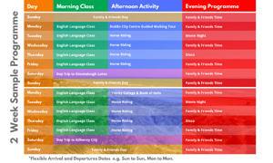 Timetable-horse-riding horse junior summer camp dublin ireland
