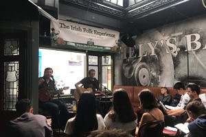 irish music pub session
