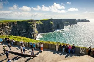 Glenstal Abbey Junior Summer camp Cliffs of Moher
