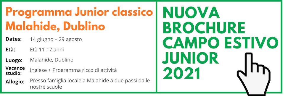 Classic Junior Programme Malahide, Dublin 2021