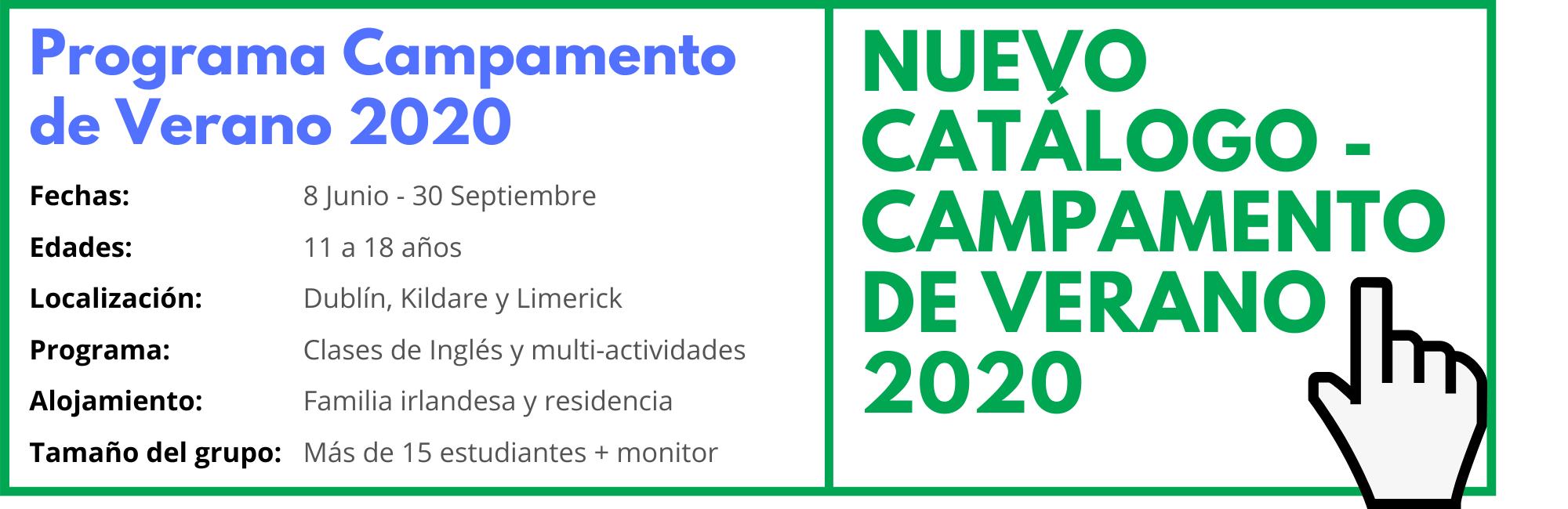 Programa Campamento de Verano 2020