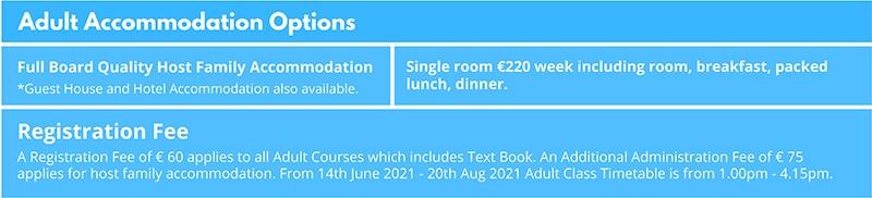 Host family accommodation in Dublin