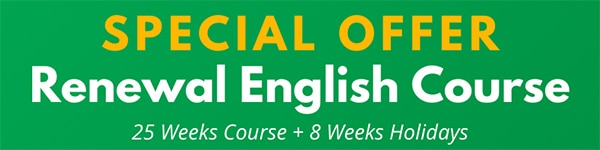 Renewal English Course in Dublin