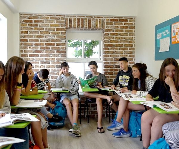 English Summer Camp Class