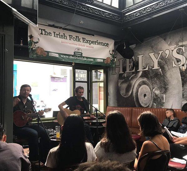 irish music pub session