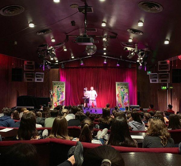 comedy show dublin city centre